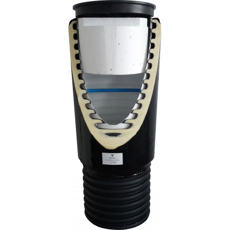 Water meter well DN 400