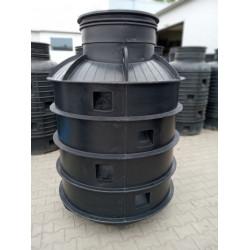 Studnia wodomierzowa z PEHD DN1000  h-2,0