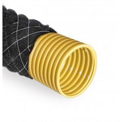 Rura drenarska  80 PVC/50m/PP700 kokos