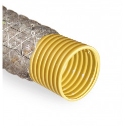 Rura drenarska 100 PVC/50m/PP450 szara otulina