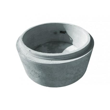 Krąg betonowy z dnem 1200x500