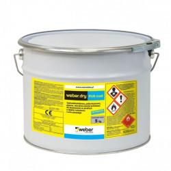 Weber.dry PUR coat 5 kg Srebrnoszary, poliuretanowa warstwa nawierzchniowa