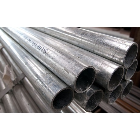 Steel pipe Ø15 galvanized, 6 m