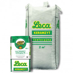 Keramzite 4-10 mm BIG BAG 2 m3 Insulating M