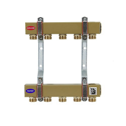 """Steel Central Heating Separator 1"""" (from 2 to 10 sections) with srewed joints"""