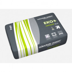 Cement EKO+ 32,5 (cement wieloskładnikowy)+ 25 kg 56szt,/pal.
