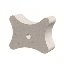 Fibre-reinforced concrete block spacer 20/25/35