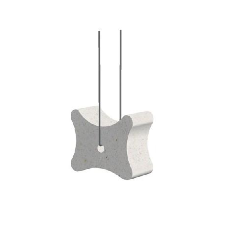Kość z włóknobetonu 35/40/50 z drutem