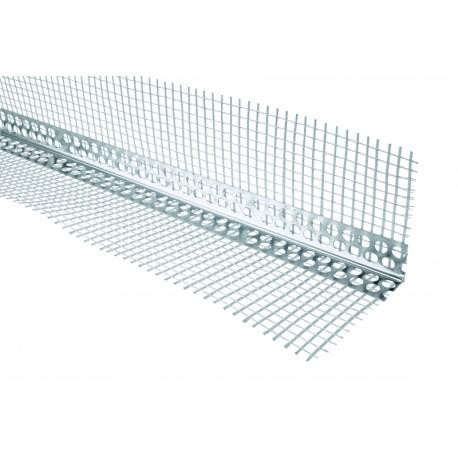 Alu angle beads with mesh 3 m