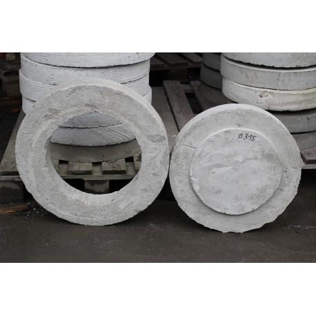 Pokrywa betonowa 315 mm, 1,5t