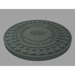 Manhole Cover+Frame AO 600 A15