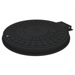 Manhole Cover+Frame DO 600, hinge & lock