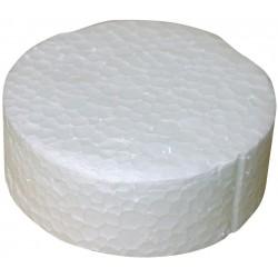 Zaślepka styropianowa biała 63,5 mm, 250 szt./op.