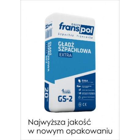 Gładź szpachlowa FRANSPOL Extra GS-2, 20 kg