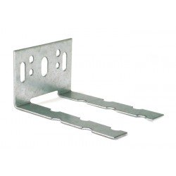 Wall starter/connector galvanized K2, L 35x65 mm 60x1,25 mm