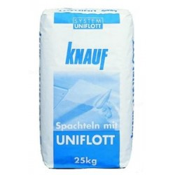 Gypsum filler Knauf UNIFLOTT 25 kg