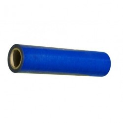 Self-adhesive blue film, 0,5x75 m