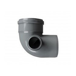 PP Elbow 100x50/90° left