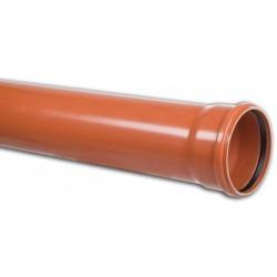 Kanalrohr PVC 160x4,7 mm strukturiert