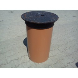 Manhole Cover DN425 B125 with PVC pipe