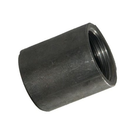 Mufka czarna spawalna