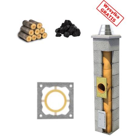 Komin standard (kominek,drewno,węgiel)