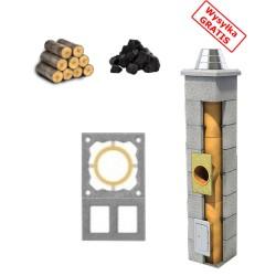 Schornstein Bausatz standard + Doppellüftung