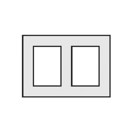 Komin wentylacyjny - dwukanałowy 0,33mb