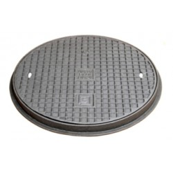 Cast iron manhole cover A15, 400 mm