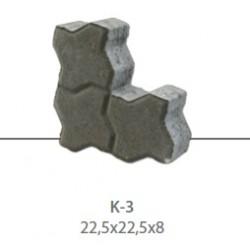 KAMAL ALL-Quadrat-Verbundstein K3, 8 cm