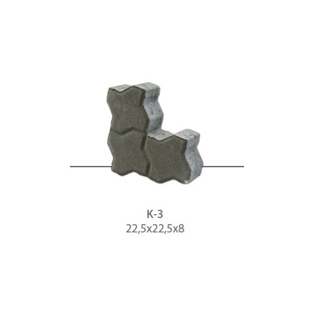 Kostka brukowa K-3
