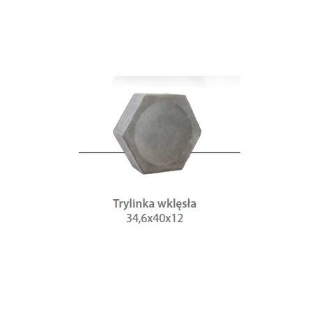 Płyta drogowa trylinka wklęsła gr. 12 cm