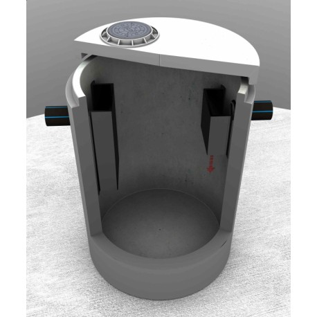 Grease separator ST-05 HDPE R