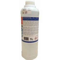 Izopropanol 1 L - for degreasing PE pipes