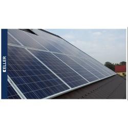 Solaranlage 34-Platten 260Wp, 8,84 KWP