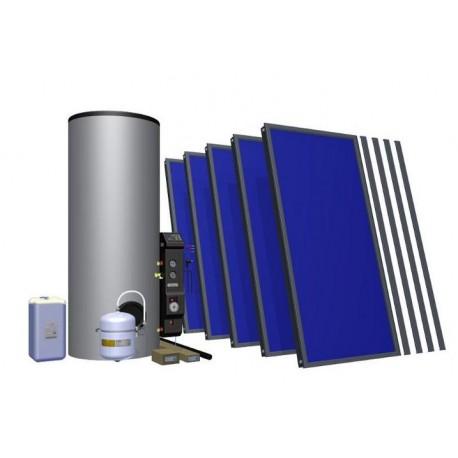 Solaranlage TLPAm-INTEGRA500 3-8 Personen mit Unterstützung der Zentralheizung