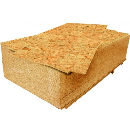 OSB - Oriented Strand Board 25x2500x1250 mm
