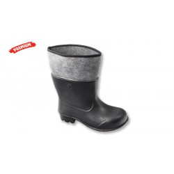 Felt rubber boot - EVA