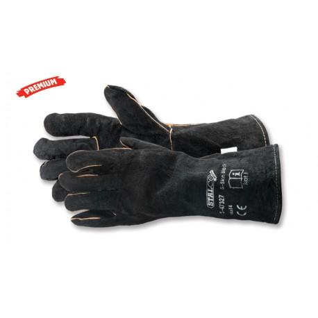 Lederhandschuhe S-Skin Black