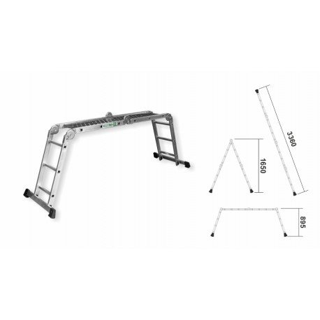 Multipurpose ladder