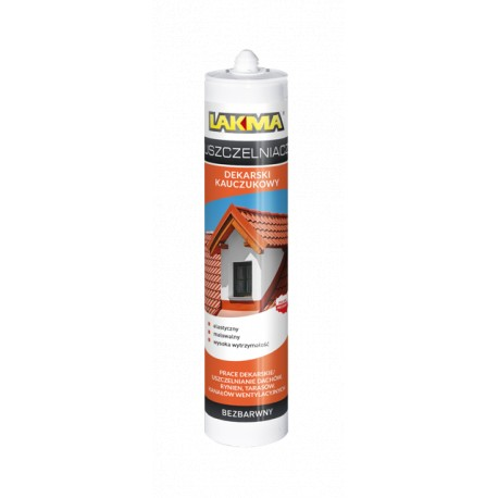 Rubber roofing sealant 300 ml graphite