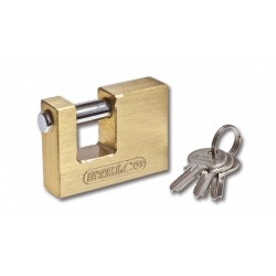 Brass spindle lock 70 mm