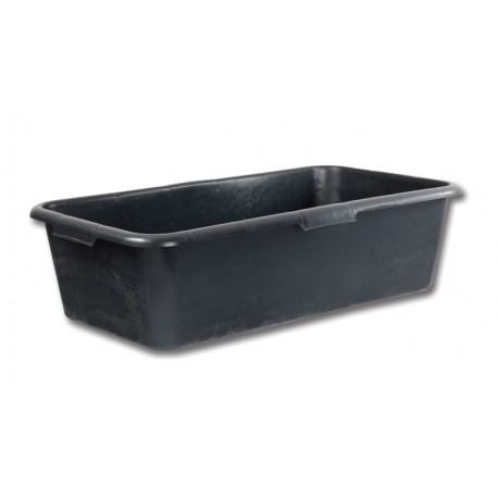 Rectangular mortar tub 40L