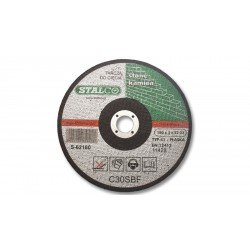 Flat cutting disc for concrete Ø23 cm