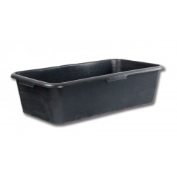 Rectangular mortar tub 60L