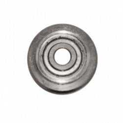 Wheel with bearing for glazing machines. 1151-1154 Wed 22 mm thick 2 mm + screw