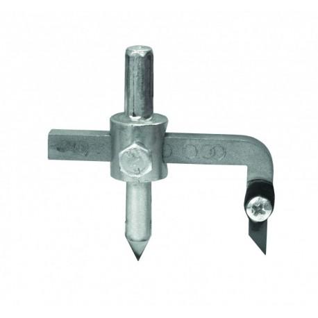 Wycinacz otworów do glazury śr. 32-120 mm wymienne ostrze