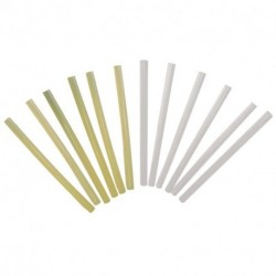 White universal hot melt adhesive 6 pcs.