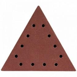 Dysk polerski trójkątny 100, z otworami, 5 szt.