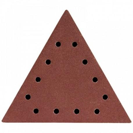 Dysk polerski trójkątny 240, z otworami, 5 szt.